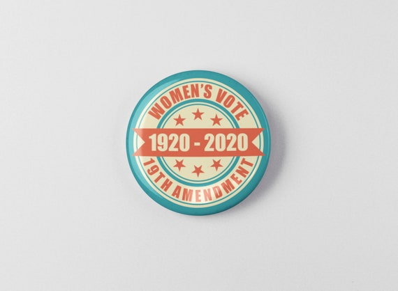Women's Vote 1920 2020 19th Amendment 1.25