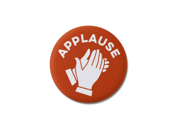 Applause Hands Clapping Button 1 25 Or 2 25 Etsy From the album i can make your hands clap. etsy