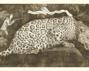 Original Etching - Poster Girl - Limited Edition (50)