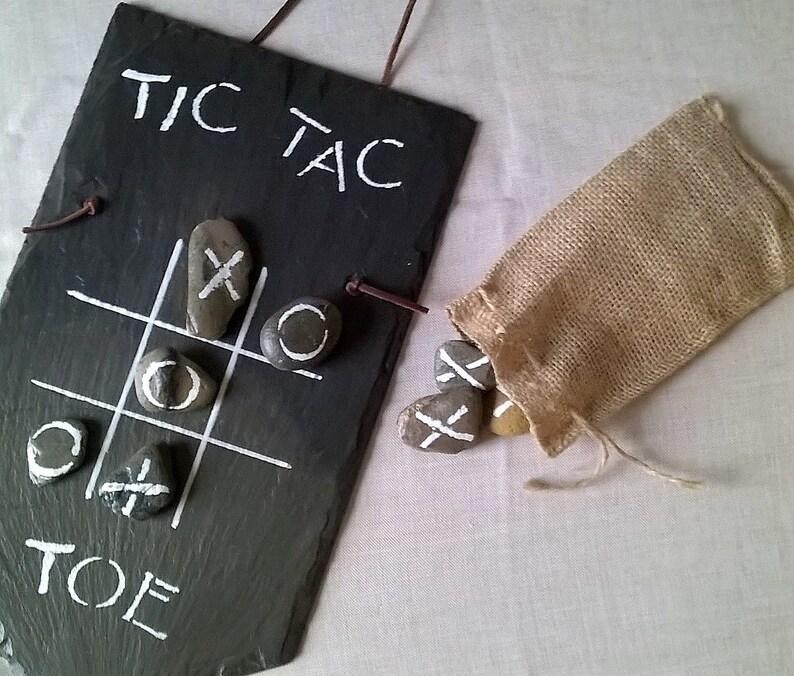 Slate Tic Tac Toe Board image 0