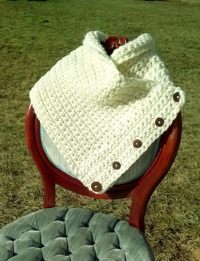 Crochet Shaw/Wrap/Scarf image 0