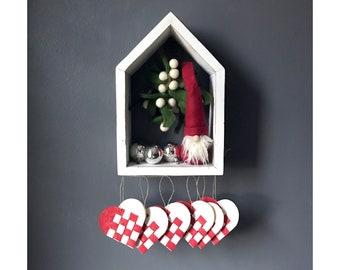 Julehjerter Christmas Ornaments, Danish Yule Hearts