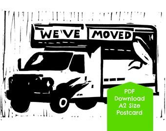 We've Moved, PDF DIGITAL DOWNLOAD