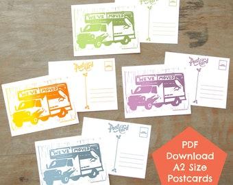 We've Moved, Spring Palette PDF DIGITAL DOWNLOAD