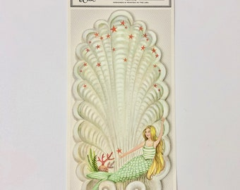 Mermaid paper Table Accents pack of 12 by Elizabeth Foster