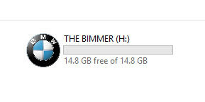 16GB BMW USB Flash Drive in the style of a Car Key!