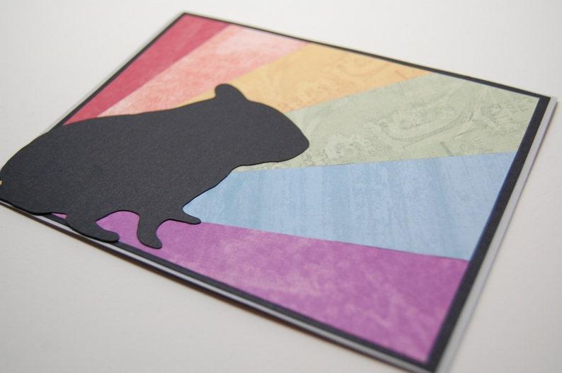 animal sympathy hamster sympathy pet sympathy Rainbow Bridge Hamster Card