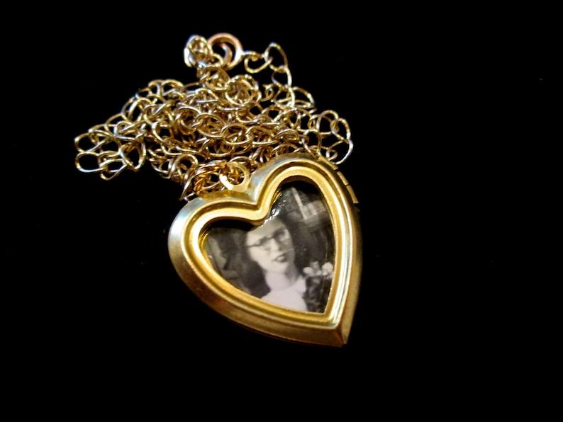 Open Heart Locket Necklace image 0