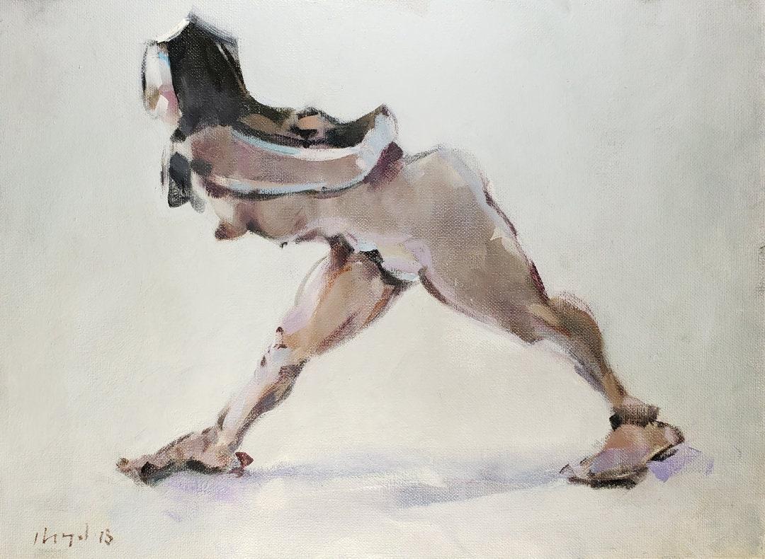 Sex Figurative Fine Nude Oil Painting Pics