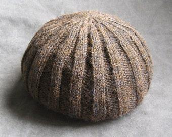 Pattern, Rib Knit Boyfriend Hat