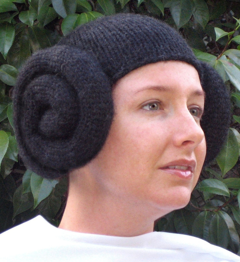 Pattern Knit Leia Wig image 0