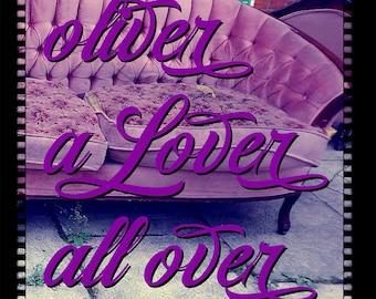 Oliver A Lover All Over - novel by Maranda Elizabeth