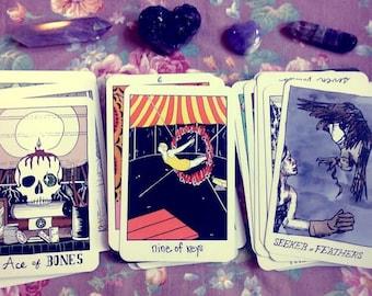 Tarot Reading - 3 cards - Past Present Future - The Collective Tarot