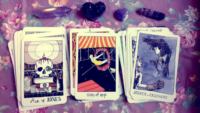 Tarot Reading  3 cards  Past Present Future  The Collective image 0