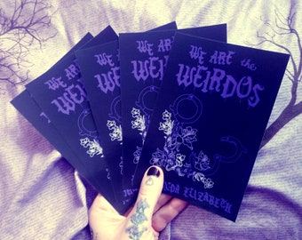 Postcards - Set of 5 - Cover of We Are the Weirdos