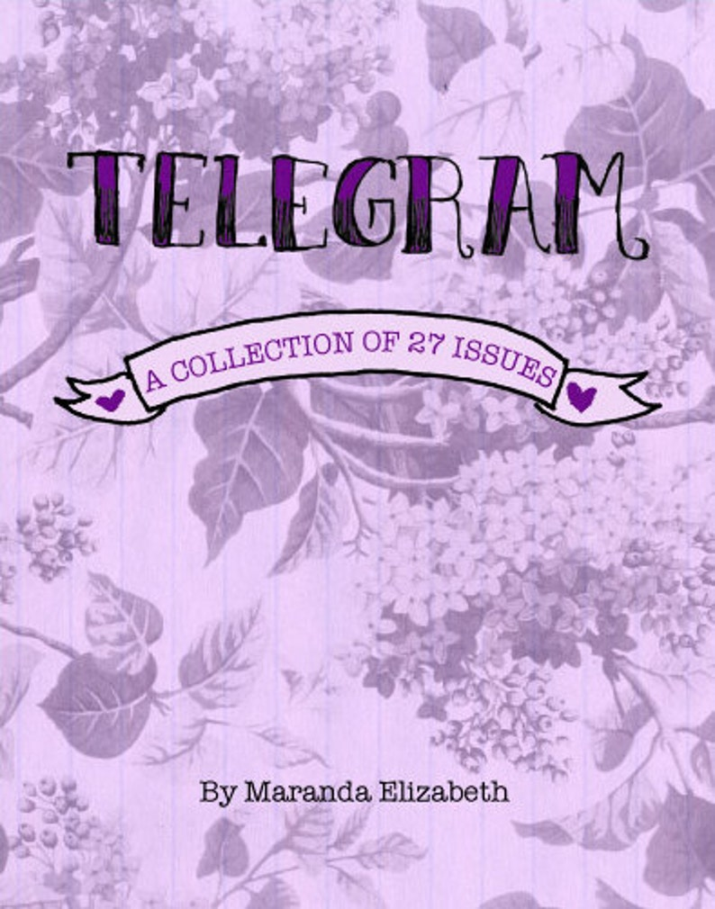 Telegram: A Collection of 27 Issues  book  zine anthology by image 0