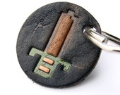 It's Dangerous To Go Alone, Take This Small Leather Keychain