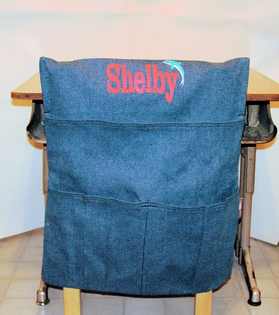 Items similar to Cajun Classroom School Chair Bag ...