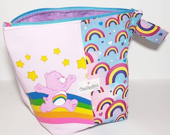 Sweater Size Project Bag Care Bears Recycled