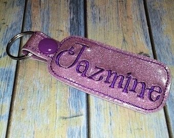 Personilized Name Key Fob Giggles