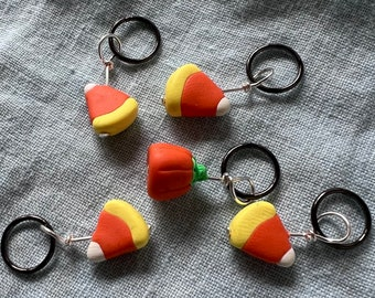 Halloween Candy Stitch Markers - Bag of 5