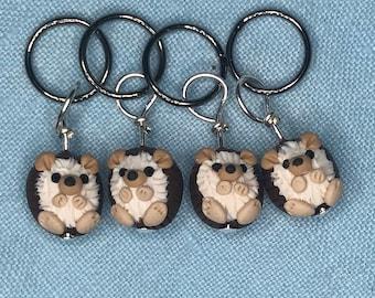 Hedgehog Stitch Markers (prickle of 4)