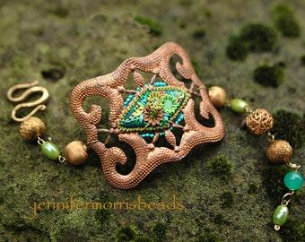 neptune's dream - a mermaid artifact bracelet