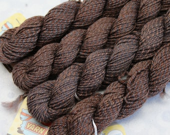 Sock Minis - FUR BABY - Fingering Superwash Merino Nylon Wool - mini skein yarn, ColorMix, Color Mix, ombre marl marled knitting
