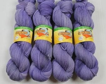 DK Opaque - INSPIRE - Merino Wool, Non-supewash - yarn hand dyed tonal semi solid speckle variegated knitting crochet weaving indie dyer