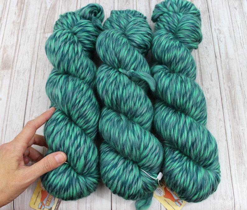 SUPRA  Super Bulky Merino Wool  OCEAN FLOOR  Knitting Yarn image 0