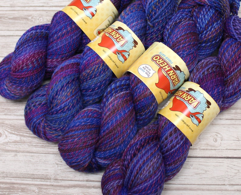 Sport   INTUITION   Merino Wool  ColorMix Yarn hand dyed image 0
