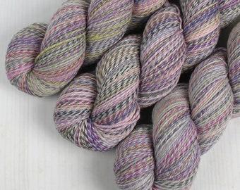 ColorMix Sock - LINEN CLOSET -  Superwash Merino Wool/Nylon, Hand Dyed Yarn, Fingering gradient ombre marl marled indie knitting crochet