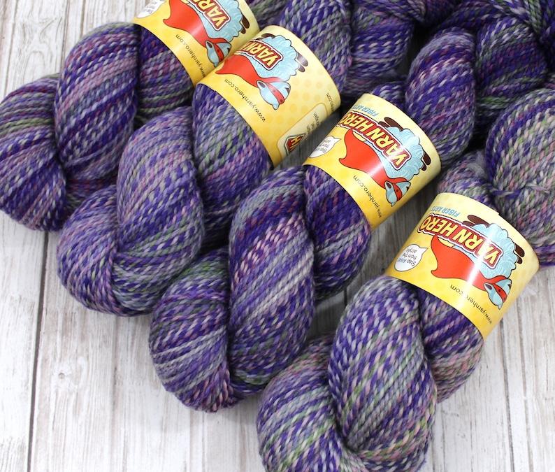 DK   WISTERIA VINE   Superwash Merino Wool  ColorMix Yarn image 0