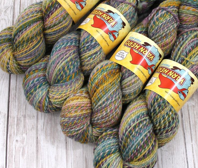 DK   SUMMER CAMP   Superwash Merino Wool  ColorMix Yarn image 0