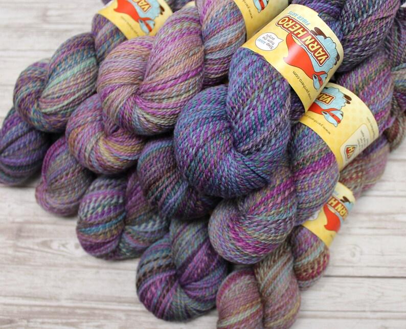 Sport   KEEPSAKE   Merino Wool  ColorMix Yarn hand dyed image 0