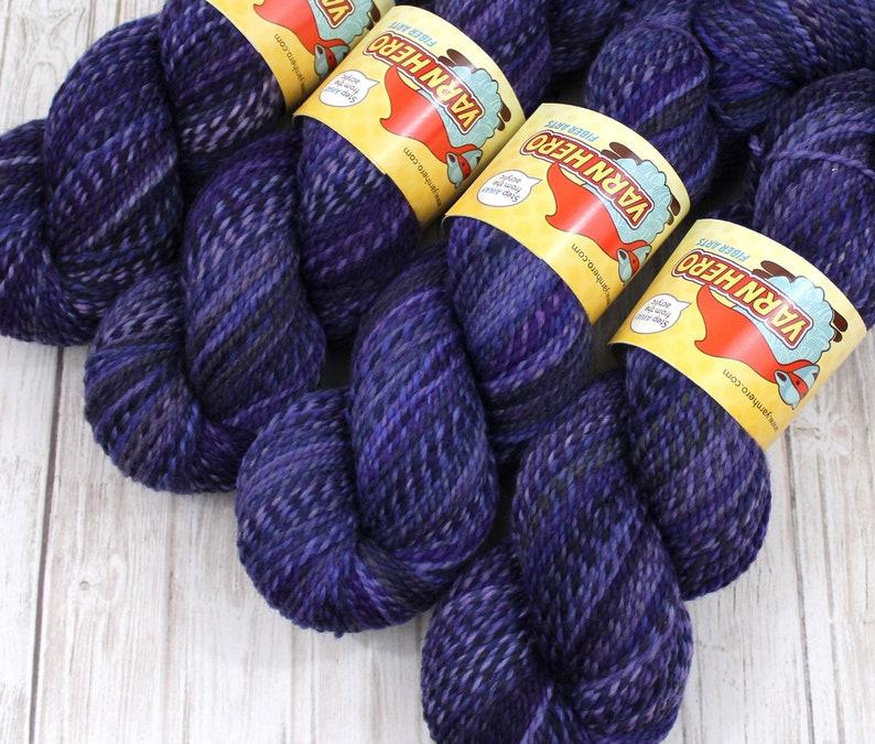 DK   MYSTERY   Superwash Merino Wool  ColorMix Yarn hand image 0