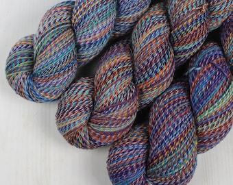 ColorMix Sock - DAY DREAMER -  Superwash Merino Wool/Nylon, Hand Dyed Yarn, Fingering gradient ombre marl marled indie knitting crochet
