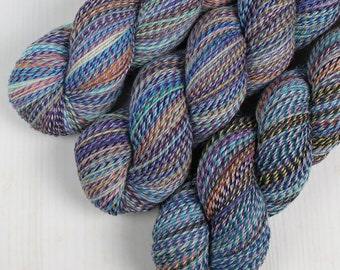 ColorMix Sock - CLUBHOUSE -  Superwash Merino Wool/Nylon, Hand Dyed Yarn, Fingering gradient ombre marl marled indie knitting crochet