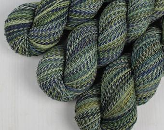 ColorMix Sock - VEGETABLE GARDEN -  Superwash Merino Wool/Nylon, Hand Dyed Yarn, Fingering gradient ombre marl marled indie knitting crochet