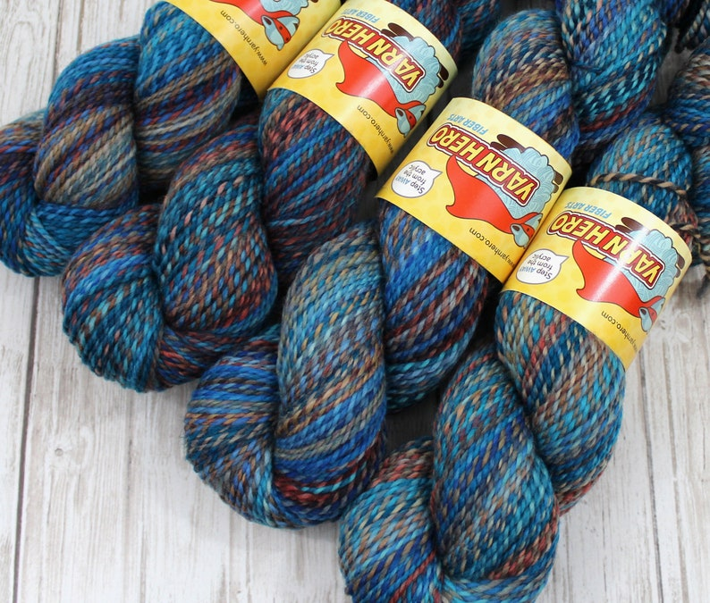 DK   CRUISE SHIP   Superwash Merino Wool  ColorMix Yarn image 0