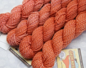 Sock Minis - SWEET TAFFEY - Fingering Superwash Merino Nylon Wool - mini skein yarn, ColorMix, Color Mix, ombre marl marled knitting