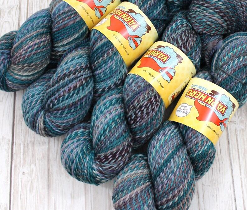 DK   TAPESTRY   Superwash Merino Wool  ColorMix Yarn hand image 0