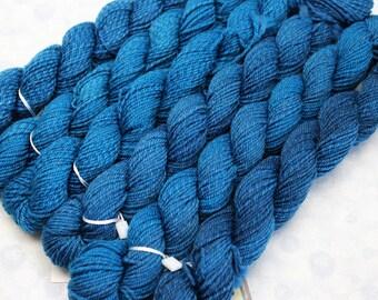 Sock Minis - SKINNY DIP - Fingering Superwash Merino Nylon Wool - mini skein yarn, ColorMix, Color Mix, ombre marl marled knitting