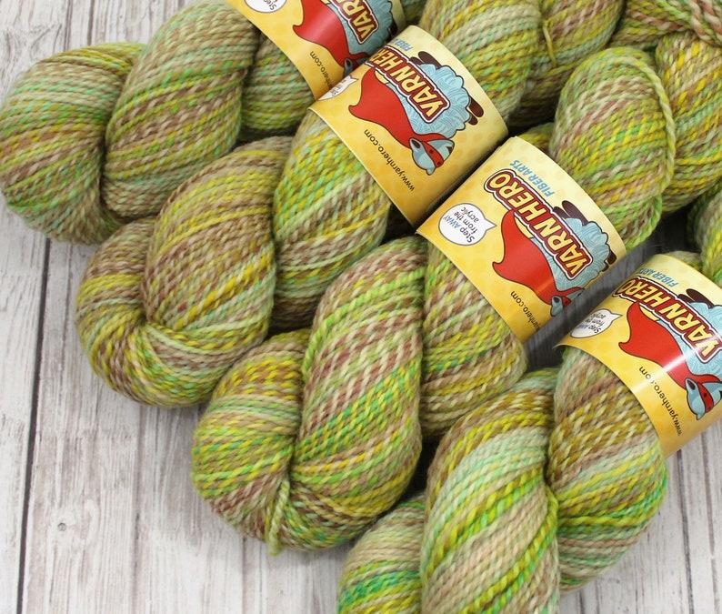 DK   BEAN SPROUT   Superwash Merino Wool  ColorMix Yarn image 0