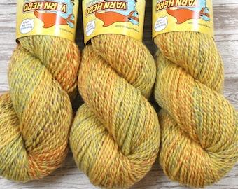 Stipple DK  - CORNBREAD -  Merino Wool Blend - Hand Dyed Yarn gradient striping marl marled ombre knitting crochet indie dyer worsted