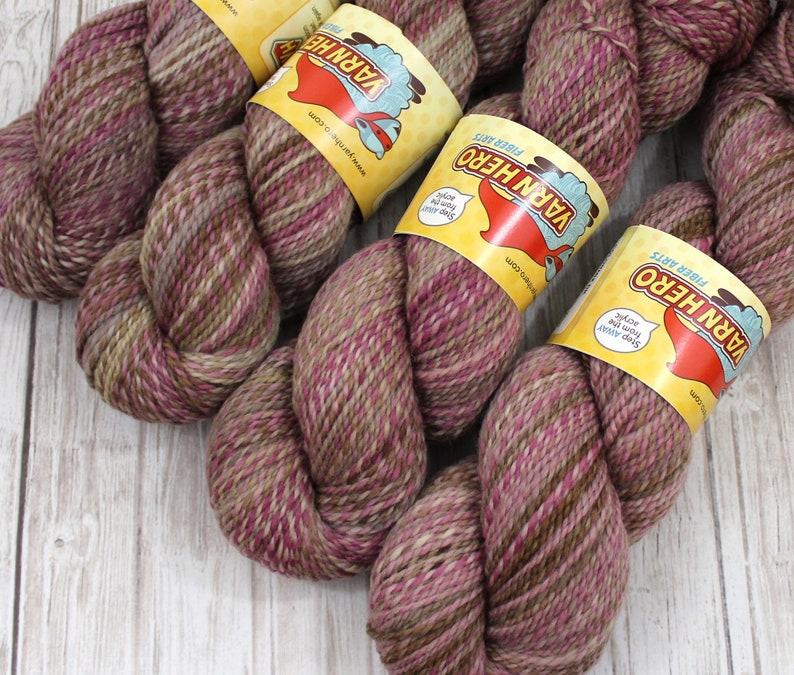 DK   DOLL HOUSE   Superwash Merino Wool  ColorMix Yarn hand image 0