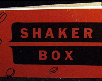 Notebook Notables 1930 SHAKER BOX Sketchbook