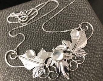 Woodland Leaf Necklaces