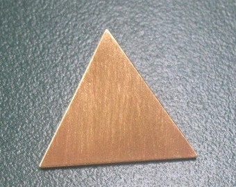 Stevie Nicks Inspired 925 and 24K gold-PLATED Triangle Pyramid Pendant, NO CHAIN, Stevie Nicks Pyramid Pendant without Chain, Pendant Only