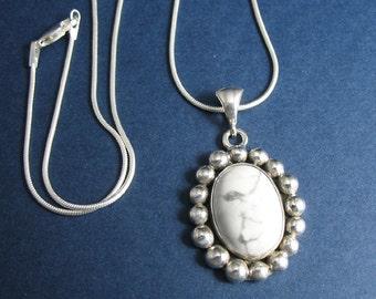 Victorian Stevie Nicks Inspired Sterling Silver Pendant, Gemstone, OOAK, Handmade, Stevie Nicks Inspired